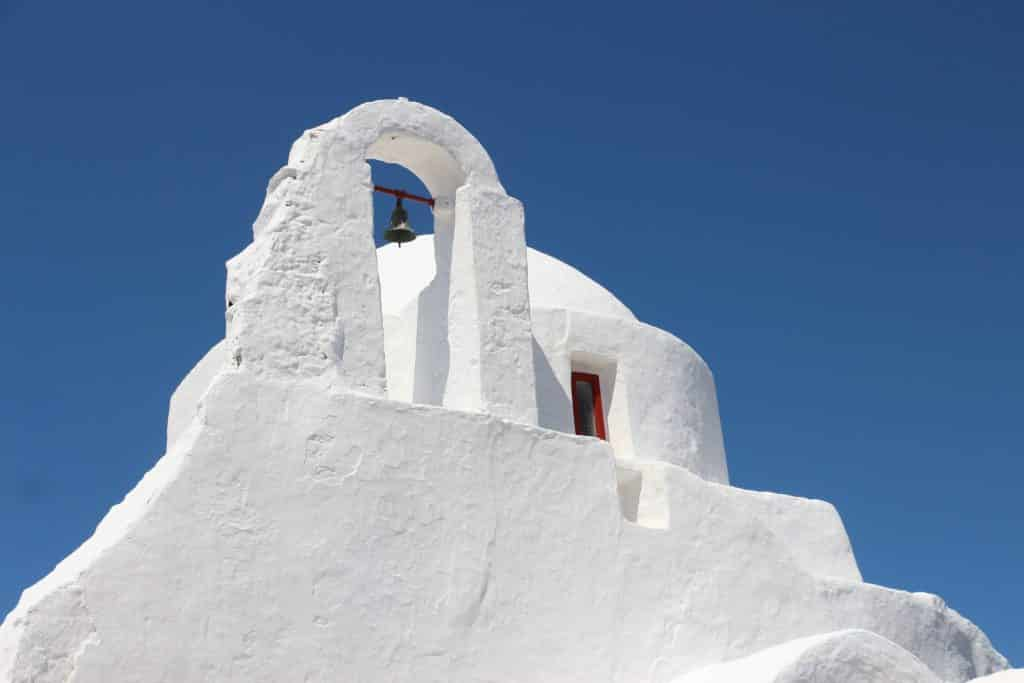 Church of Paraportiani mykonos crusing spot