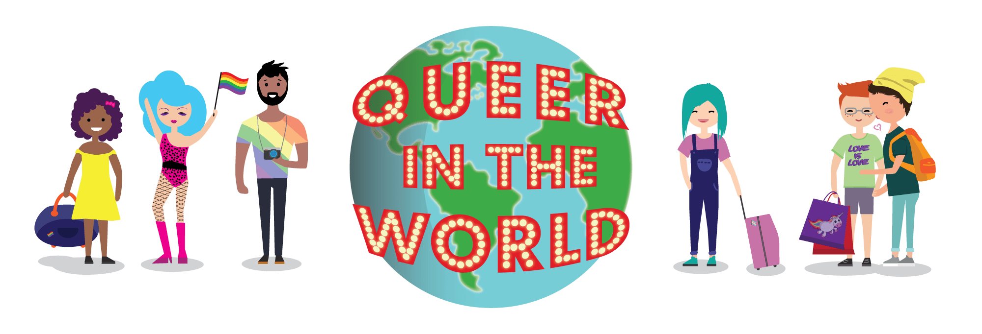 queer in the world logo