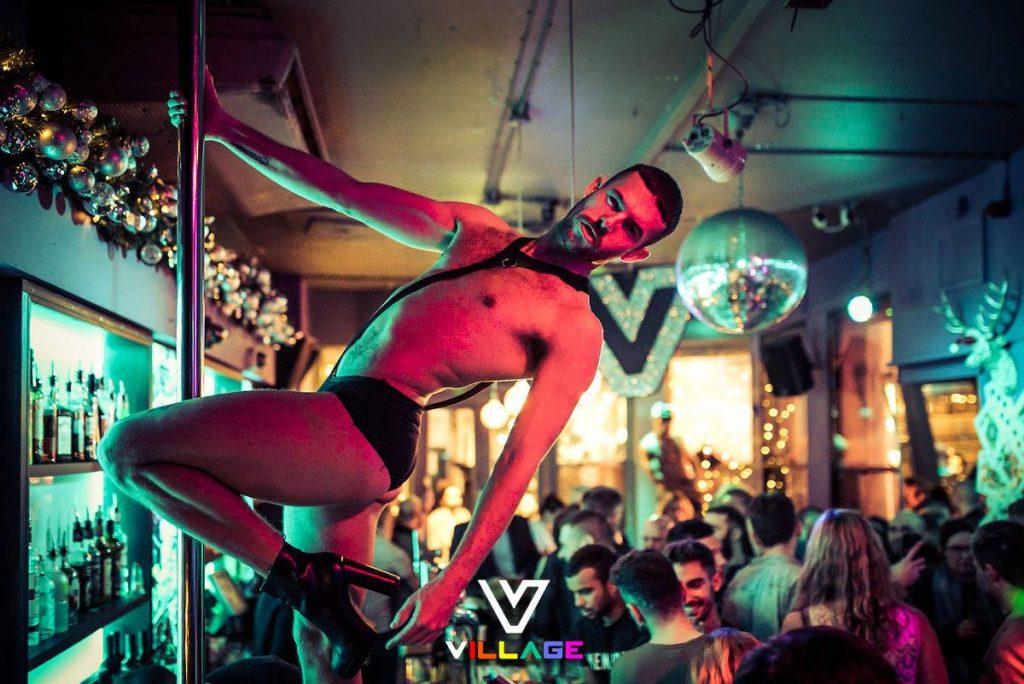 Village SoHo London ** gay bar london ** gay clubs london ** gay pubs london ** lesbian bars london ** gay places in london ** london gay scene