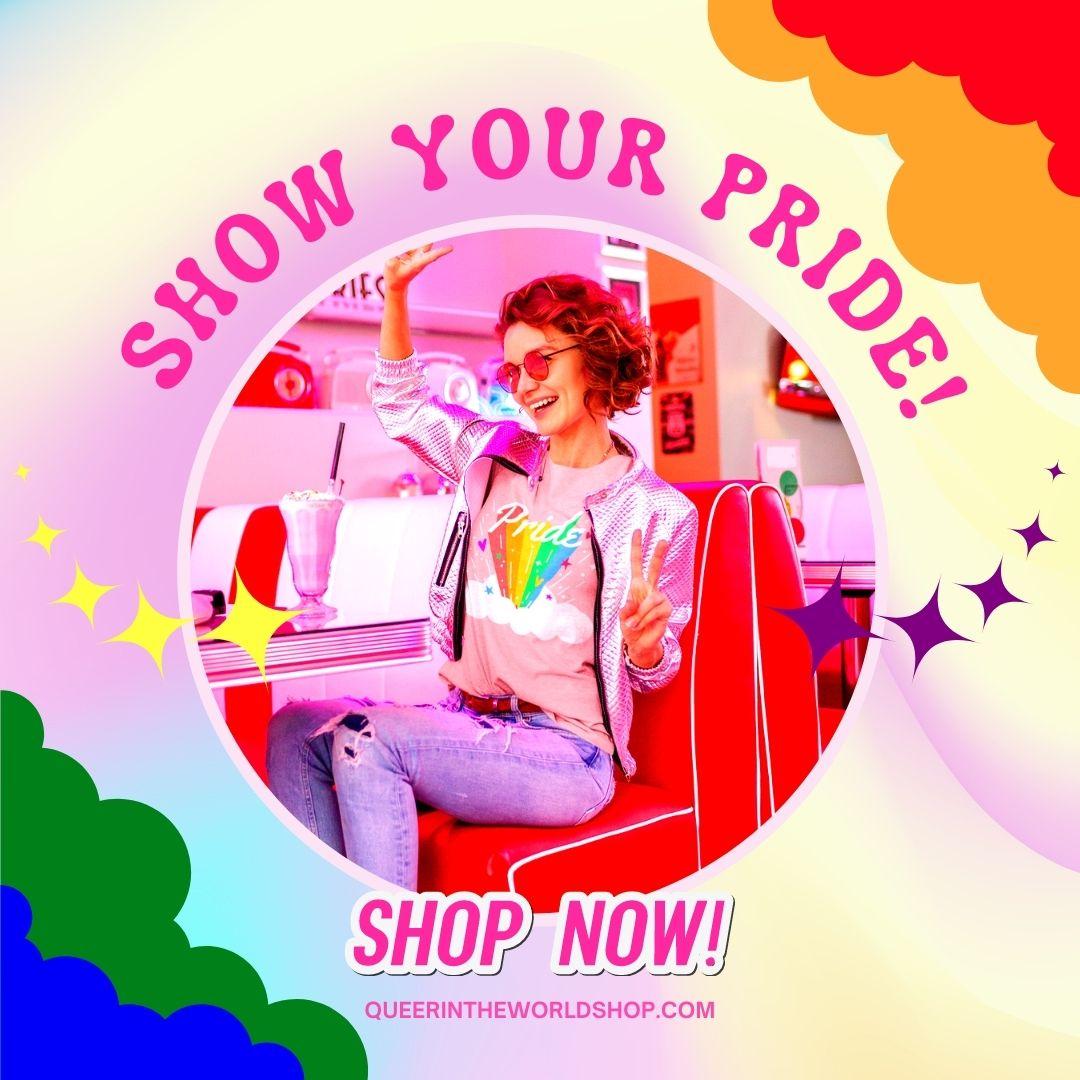 Shop LGBTQ+ Pride Designs