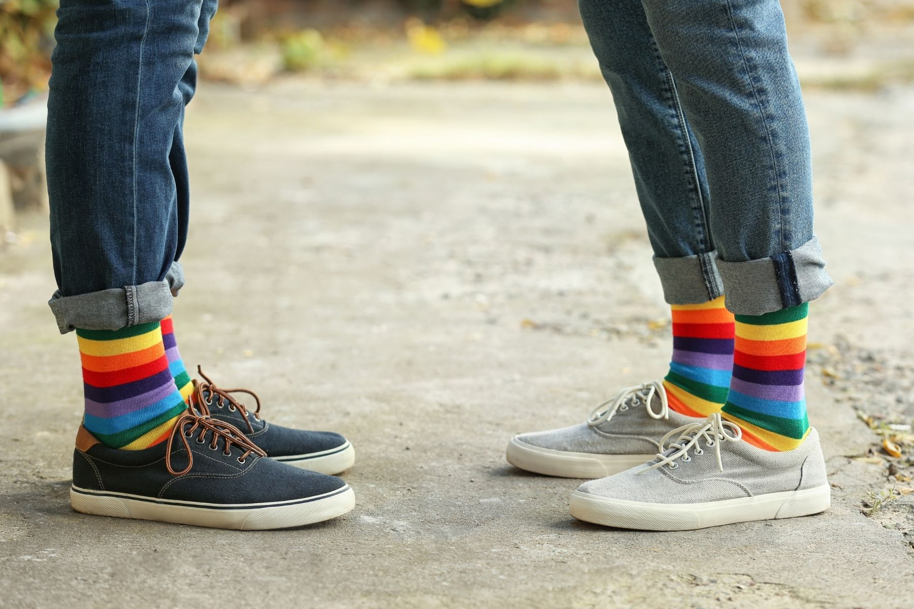 """The 15 Best Gay Socks That Let The World Know """"I'm Gay And Proud!"""""""